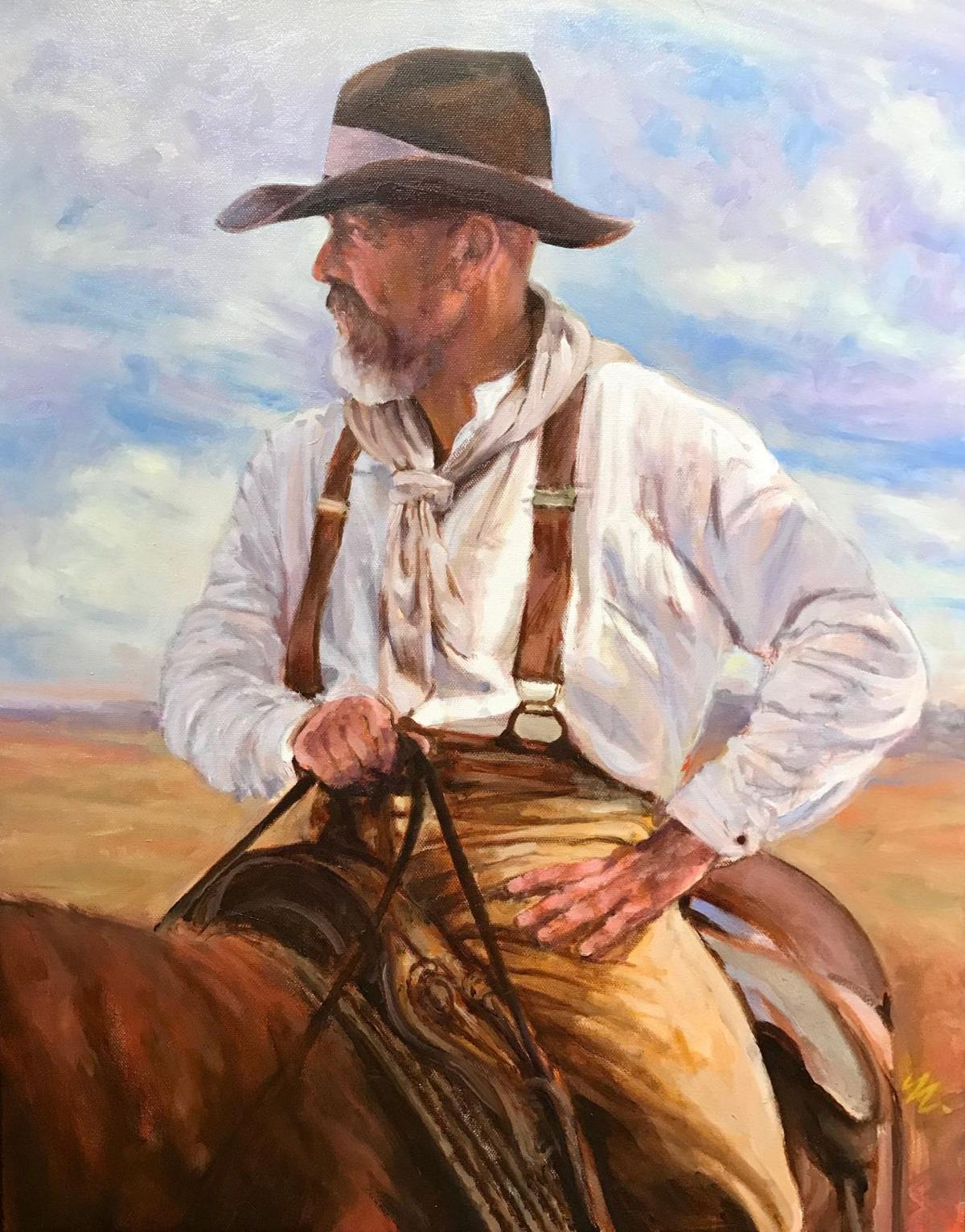 The Wrangler by Bill  Mapes