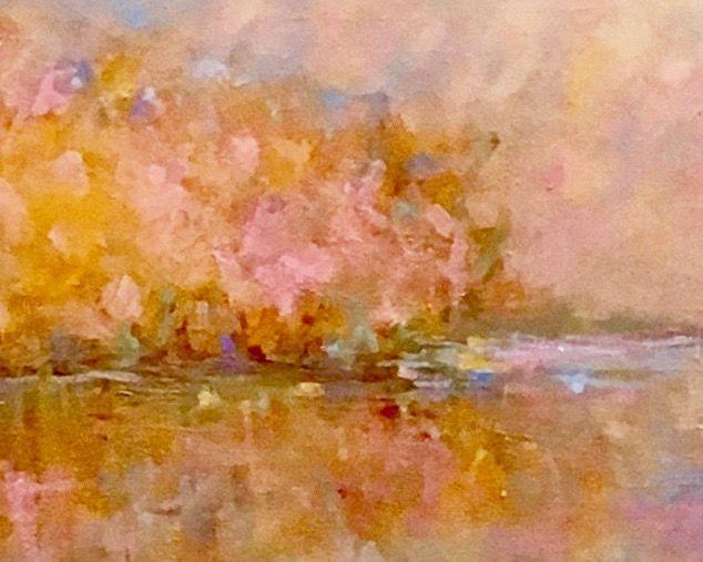 """Dawn"" oil painting by Jan Kaufman"