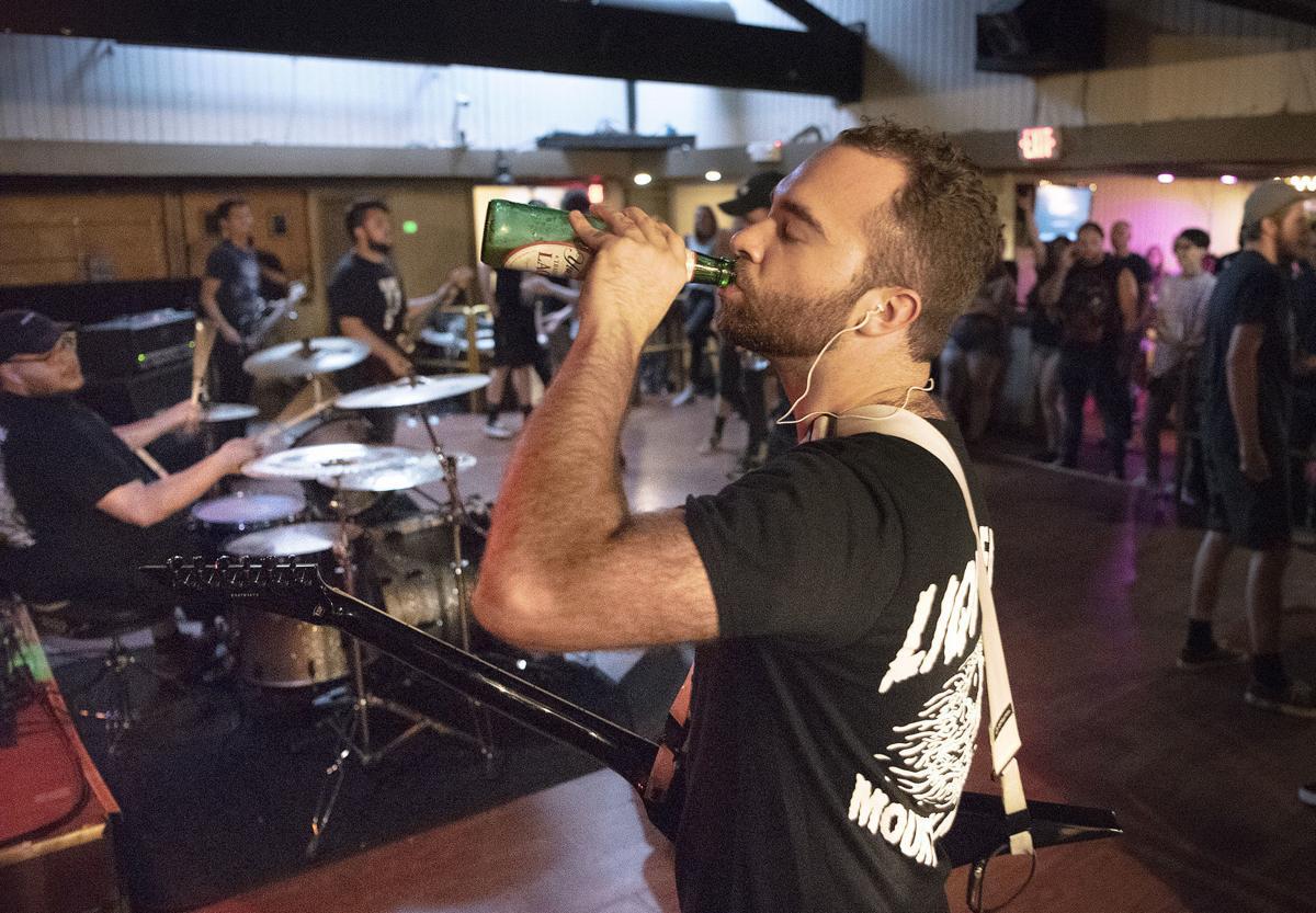 Metal band at Cafe 611 1