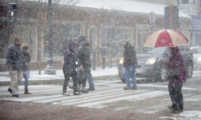 Snow Squall Walk