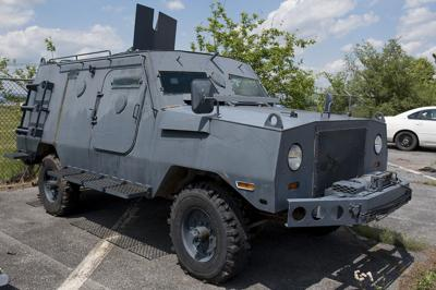 City Police Tank Peacekeeper