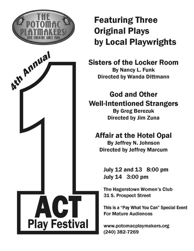 Potomac Playmakers One-Act Play Festival