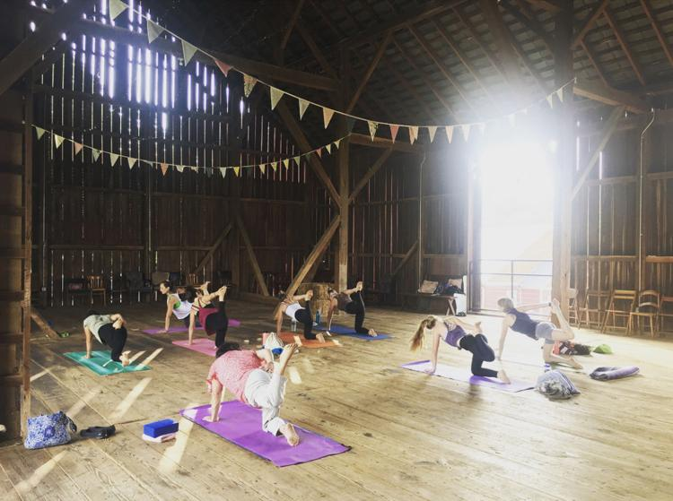 Yoga, Brunch & Acupuncture at Fox Haven Farm