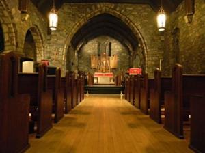 Grace Episcopal Sanctuary Entrance