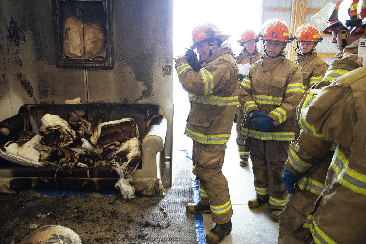 DG Fire Academy arson investigation 2