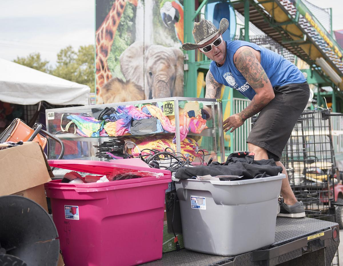 Fair Drug tent eviction