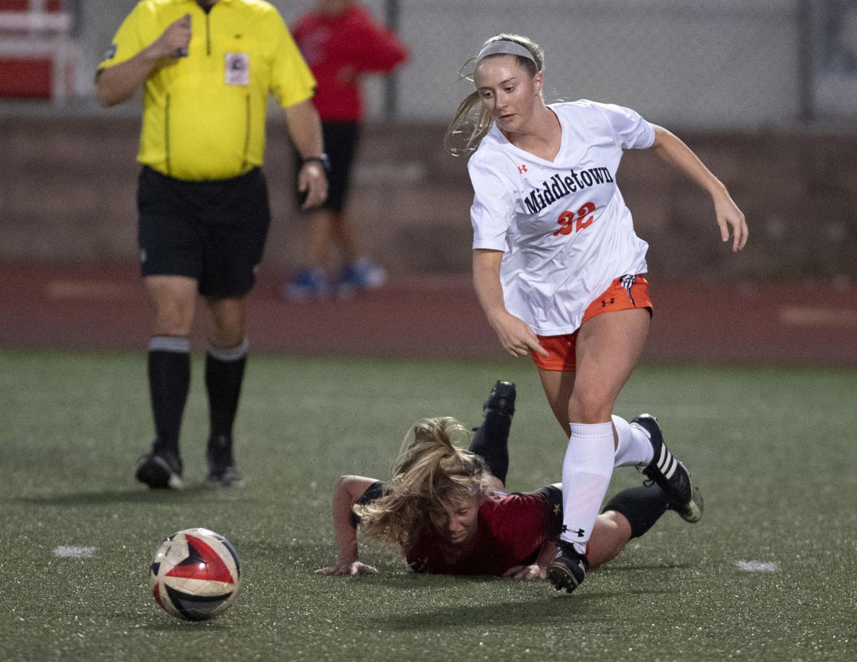 Linganore v Middletown girls soccer
