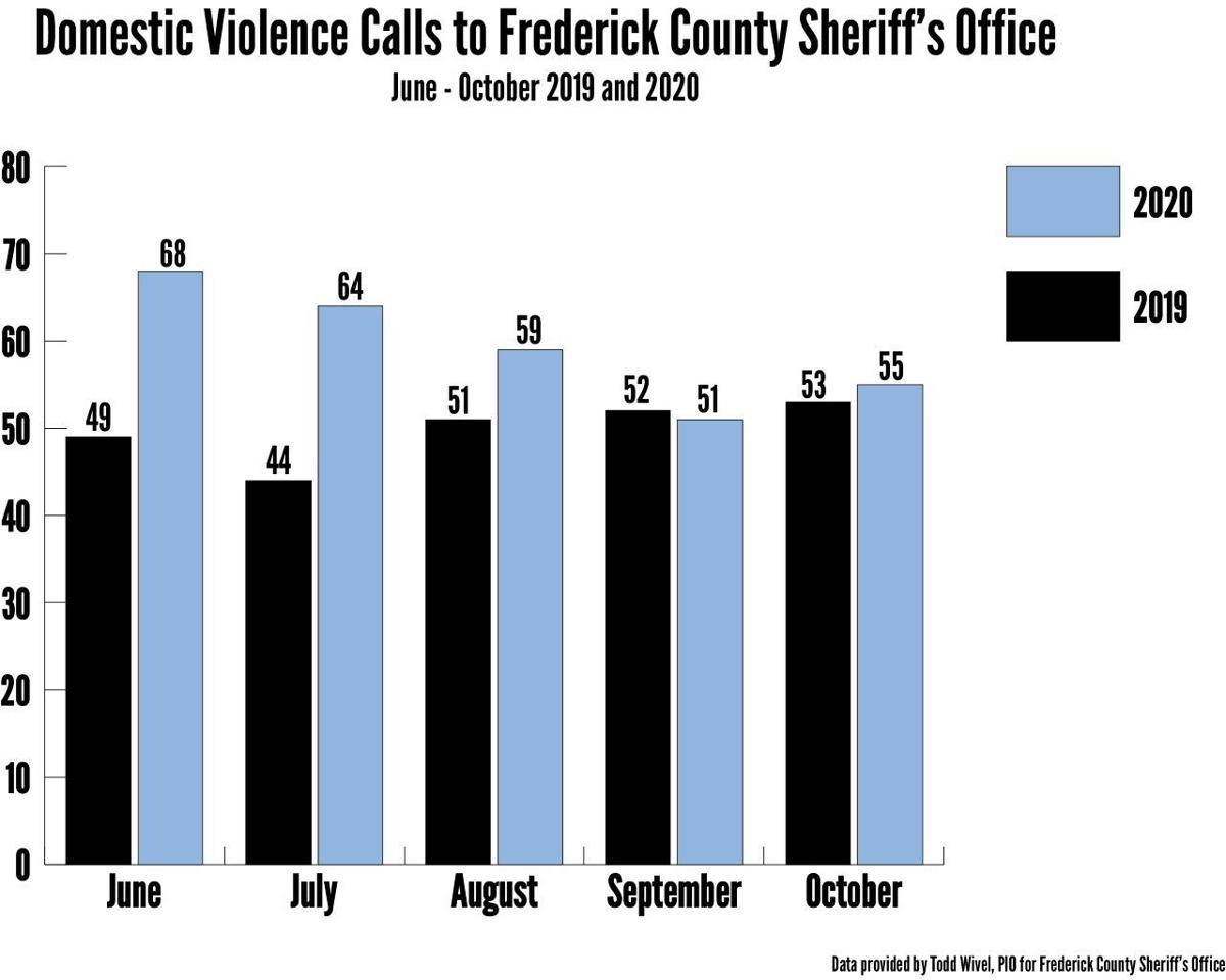 Frederick County Sheriff's Office Domestic Violence Graphic