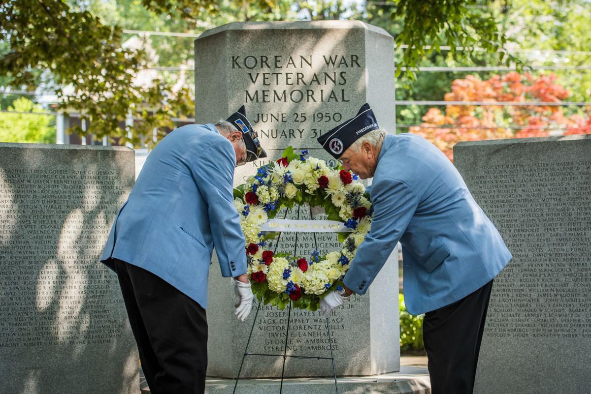 Korean War Wreath Ceremony