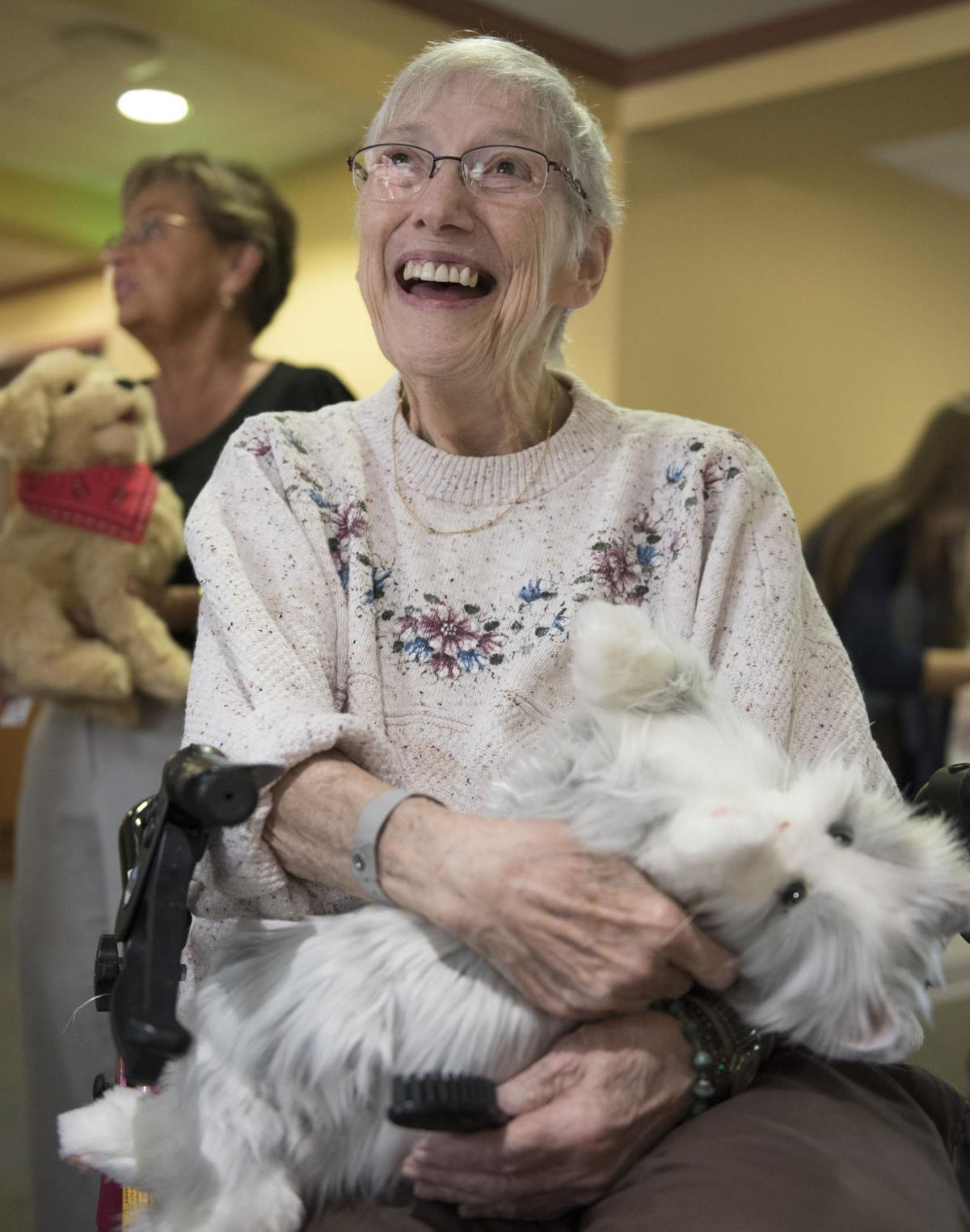 Homewood patients with dementia get perfect match with robotic pets