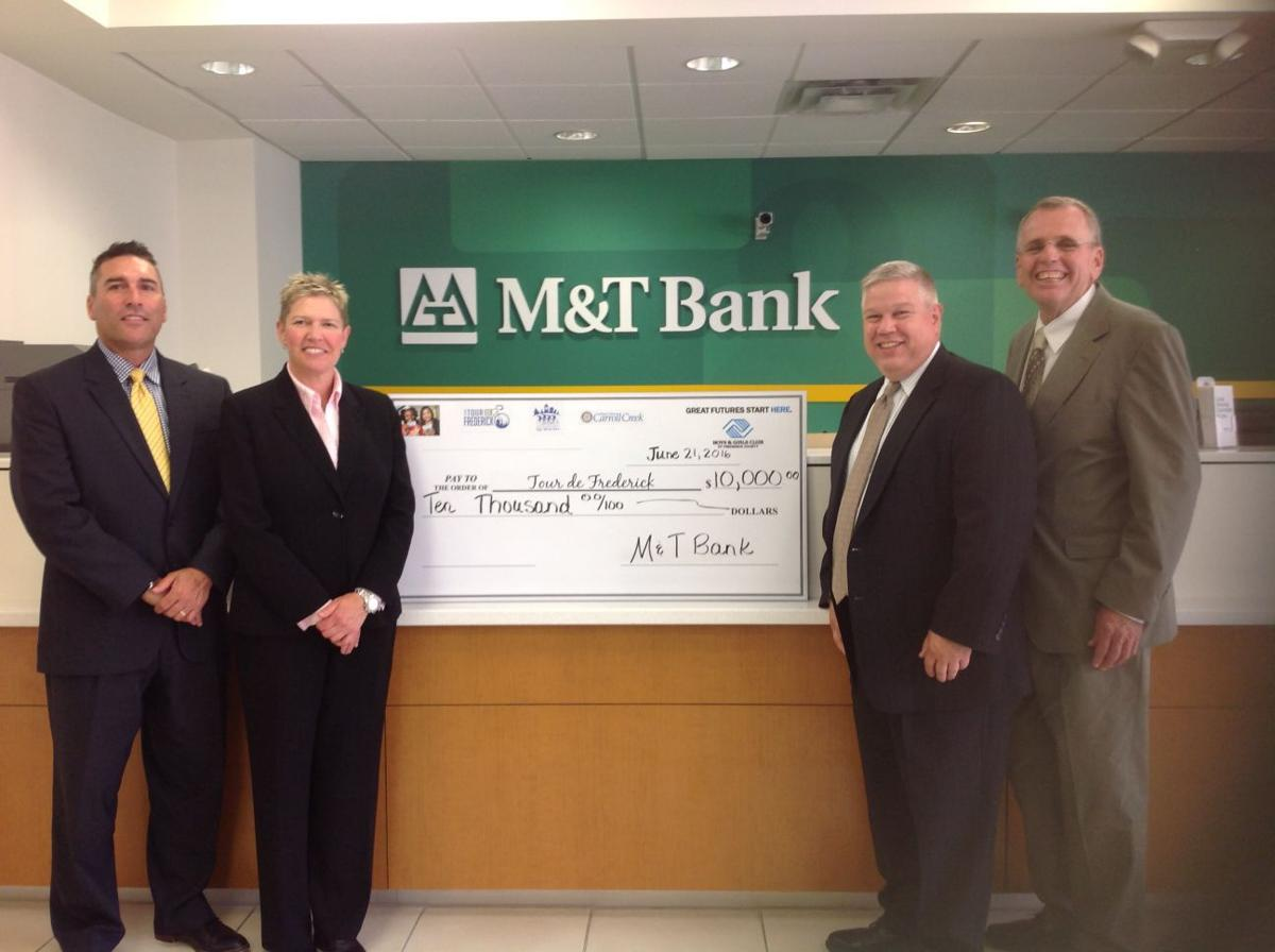 M T Bank Supports Tour De Frederick Community News