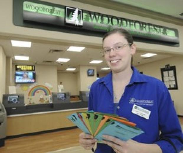 364 Days A Year, Woodforest National Bank Is Open At