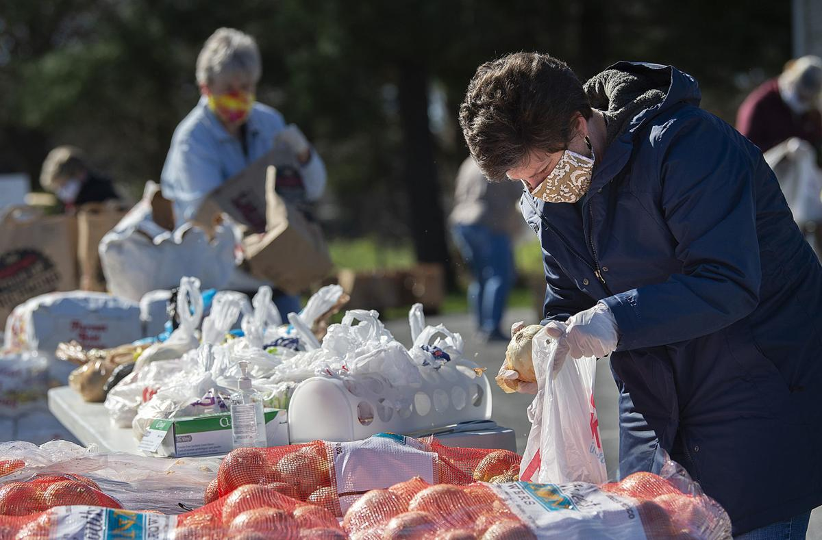 Senior Food Distribution