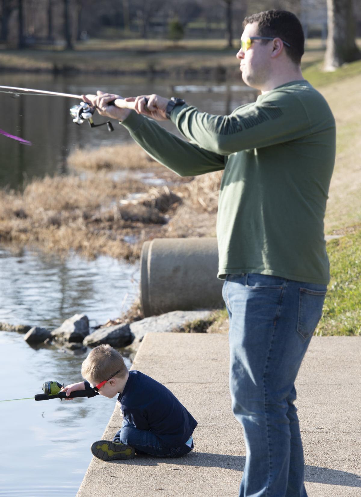 Fishing at Culler Lake