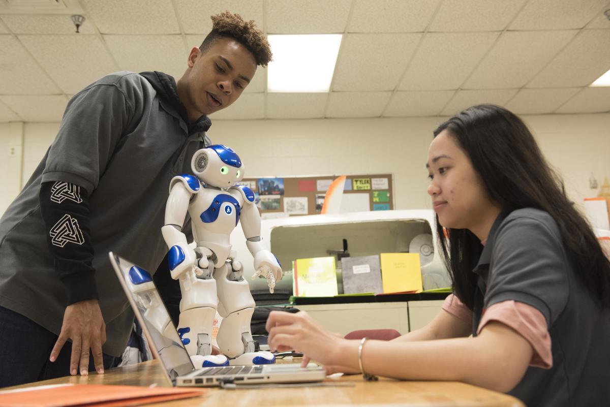 In the Classroom- CTC Robotics