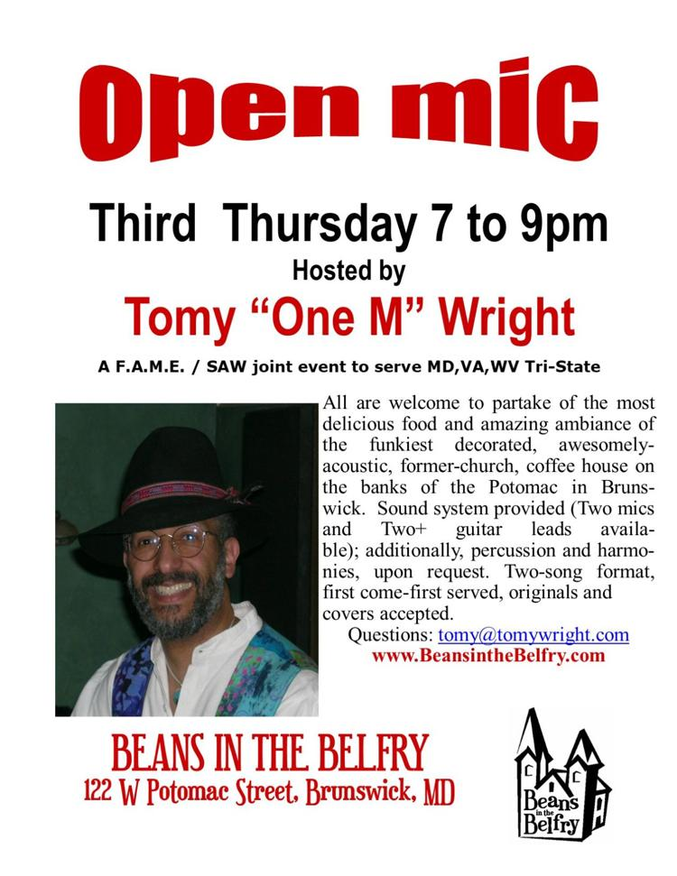 Tomy Wright and Open Mic