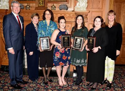 Friends of Catholic Education teacher award recipients