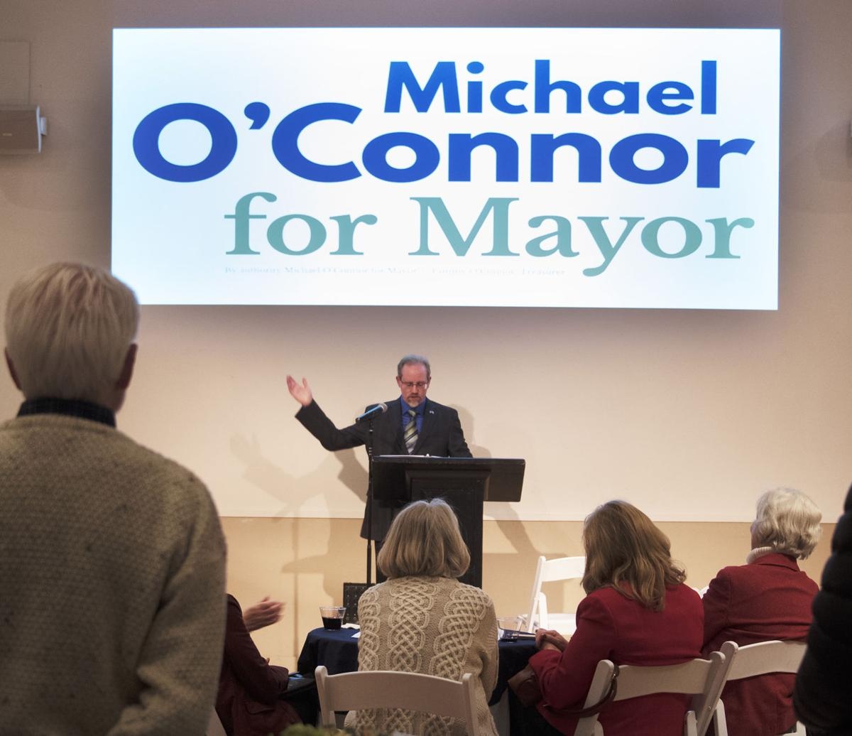 Michael O'Connor announces for mayor