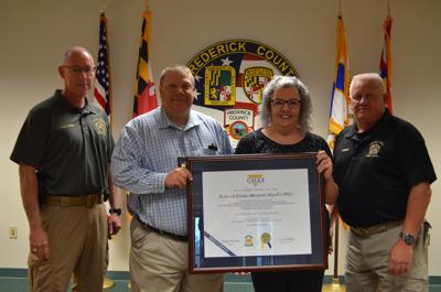 Sheriff's office receives award