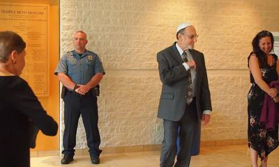 Synagogue security