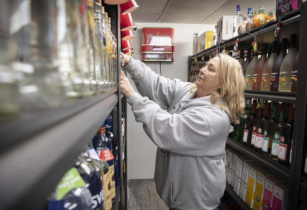 Liquor Stores Busy
