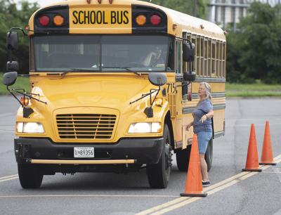 A Look At How Drivers Get Behind The Wheel Of An Fcps School Bus