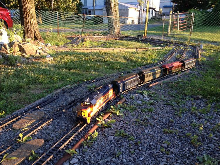 Our Large Outdoor G-Scale Train Display