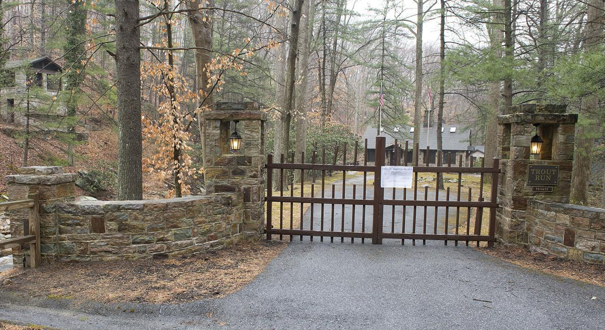 Trout Run entrance