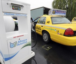 Yellow Cab signs agreement to expand propane-operated taxi