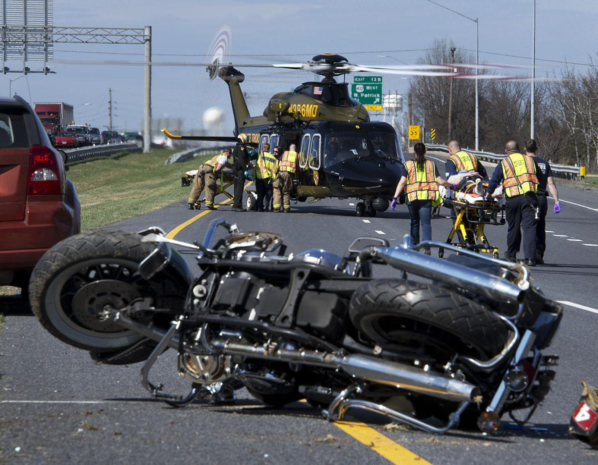 Two Flown To Trauma Center After Motorcycle Crash