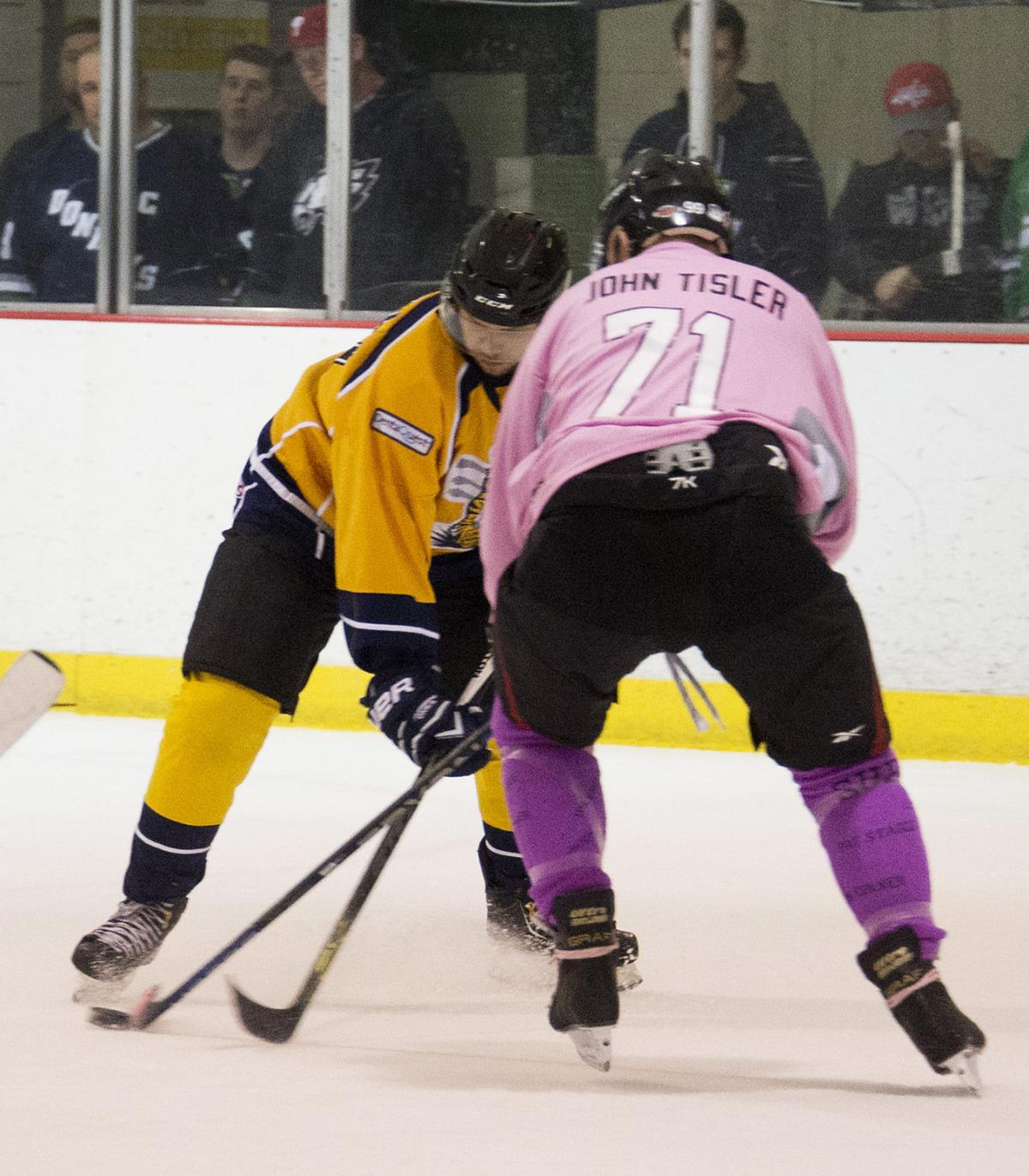 Donkeys Kick Cancer hockey tournament