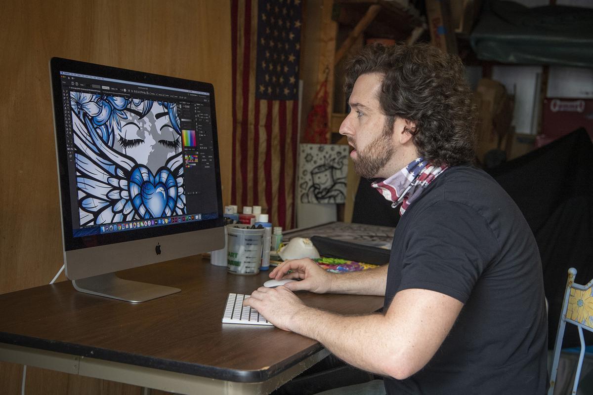 Matt Long Covid Artist