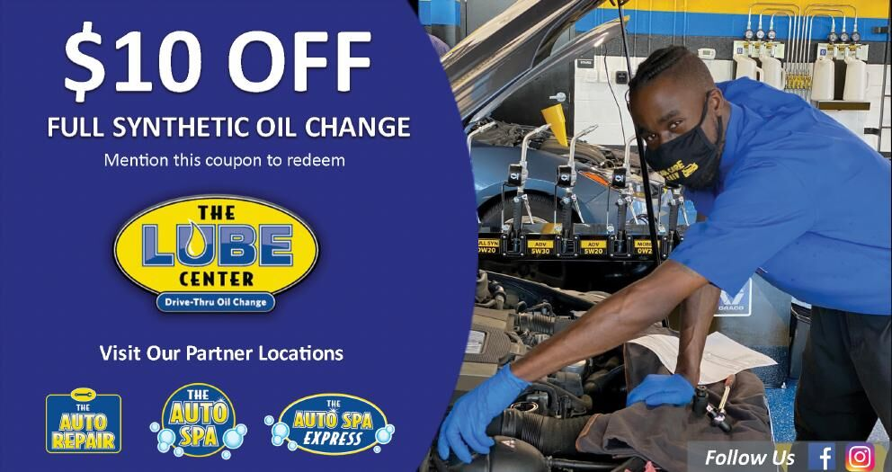 The Lube Center $10 off