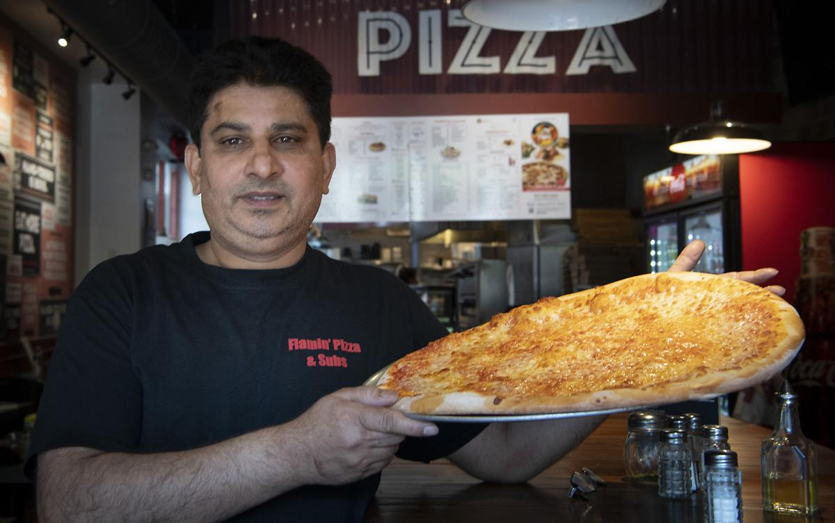 Flamin Pizza