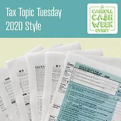 Tax Topic Tuesday