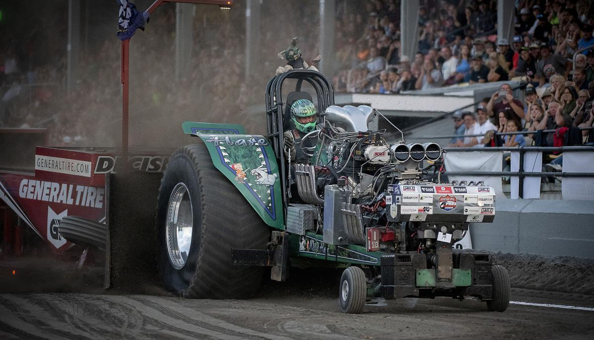 Fair Feature Monday Tractor Pull