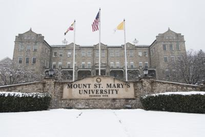 Mount St. Mary's Univerity sign