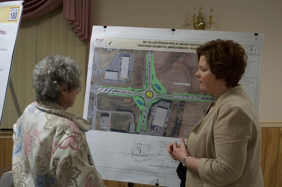 SHA hosts meeting on Md. 180 roundabout