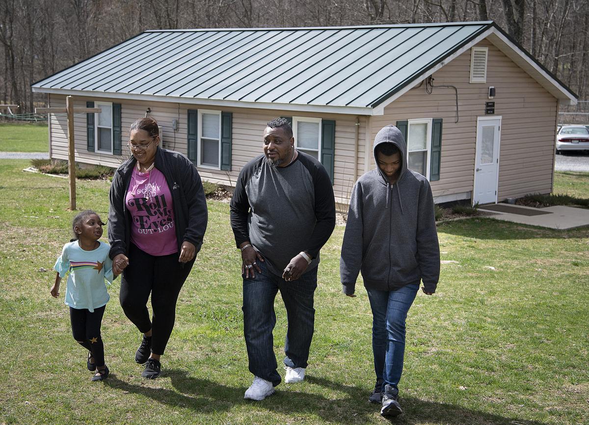 COVID Homeless Family Camp