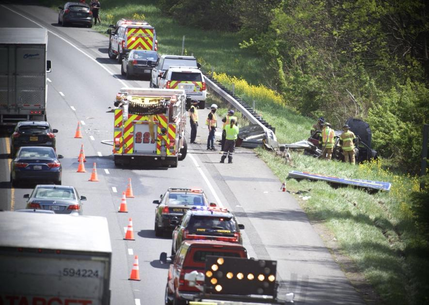 One dead in I-70 east crash in Frederick