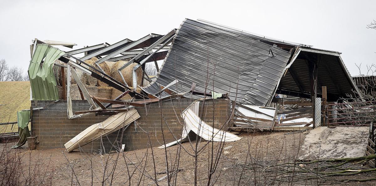Monrovia Storm Damage