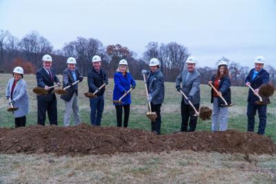 South County YMCA groundbreaking