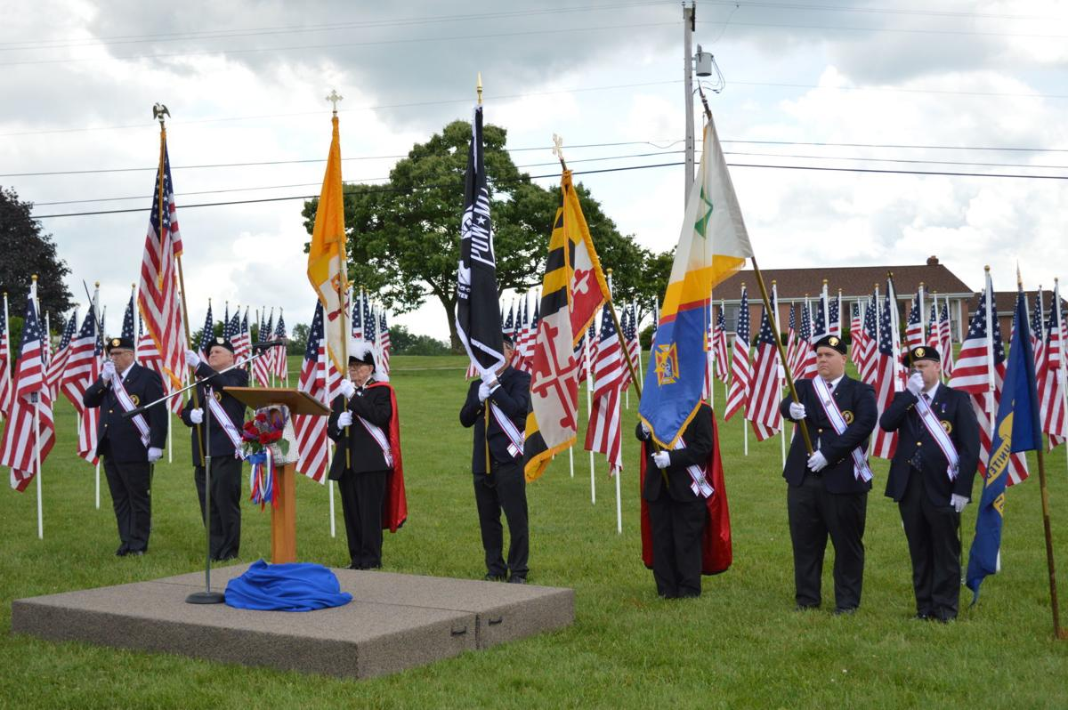 More than 600 flags at Ijamsville church symbolize sacrifice of