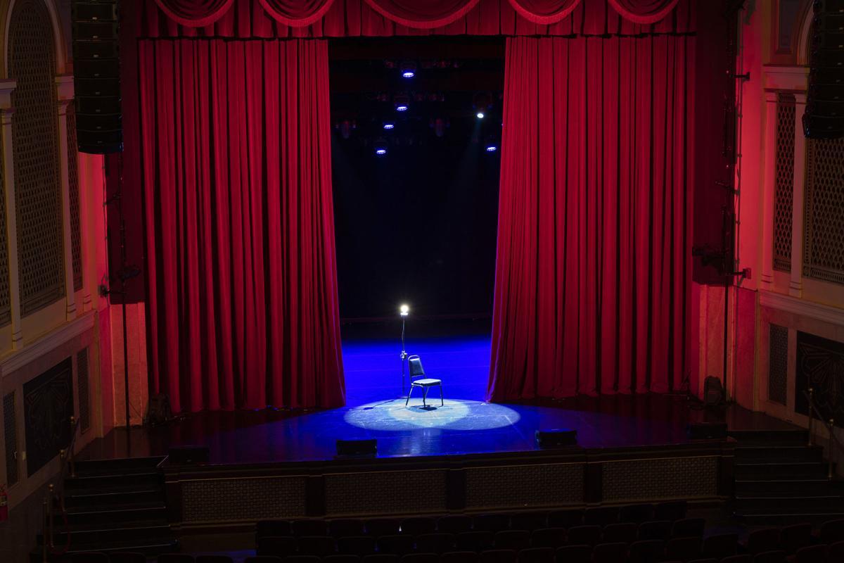 Weinberg Empty Stage