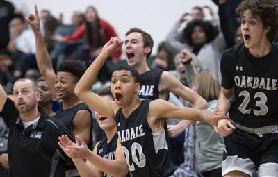 Oakdale v Tuscarora Boys Basketball