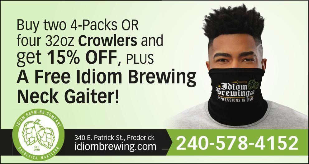 Idiom Brewing 15% off