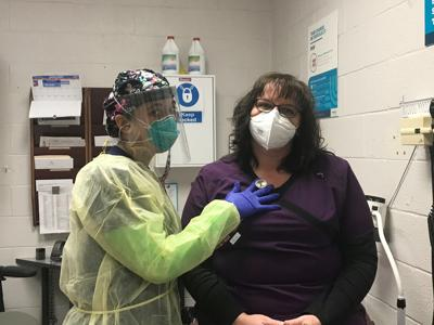 Medical screening at Frederick County Adult Detention Center