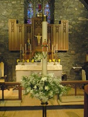 Grace Episcopal candle