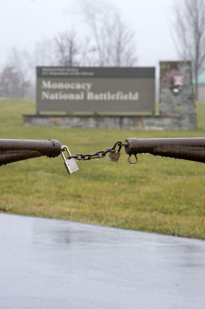 Monocacy Battlefield Closed