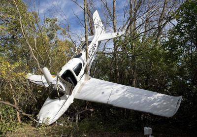 Crash plane site